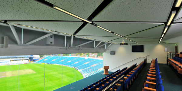 SUSPENDED CEILINGS AND ACOUSTIC PANELS
